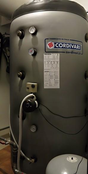 Akumulační nádoba pro vytápění