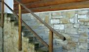 Vstupní kamenné schodiště